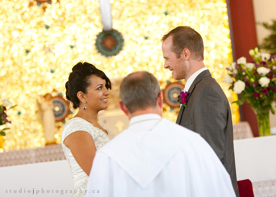 Kitchener wedding St. Josephs church