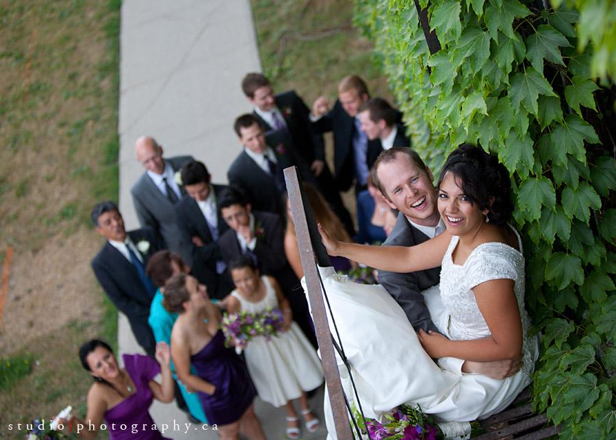 natural wedding photos in kitchener waterloo