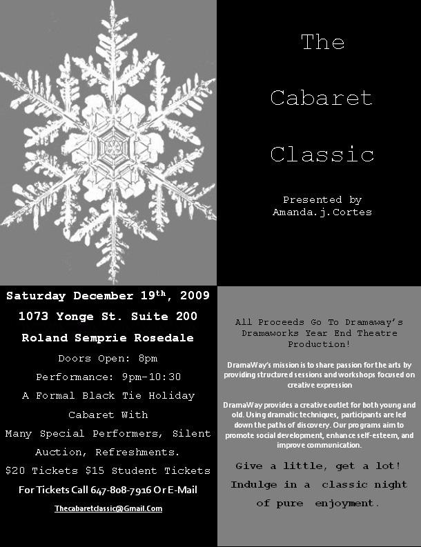 cabaret classic flyer