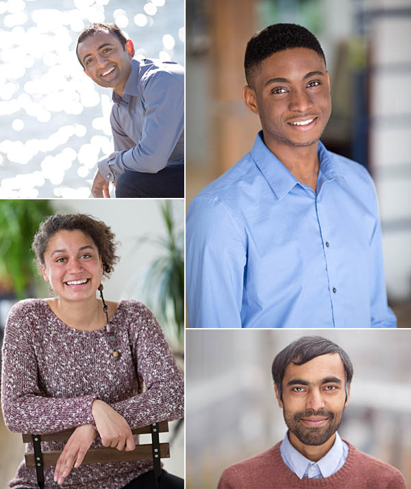 University of Wilfred Laurier scholar portraits