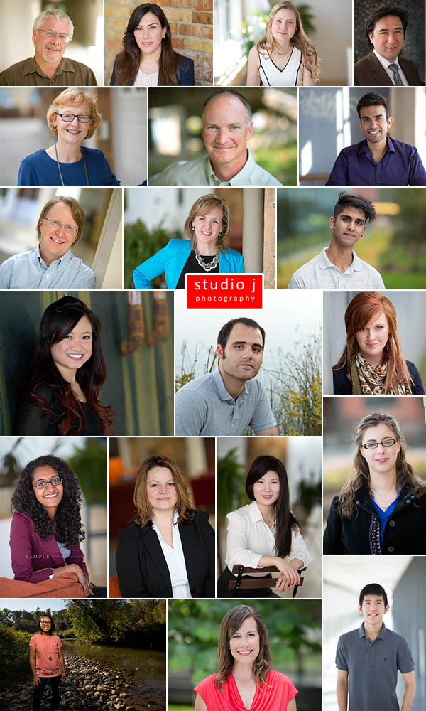 University of Waterloo's director headshot collage
