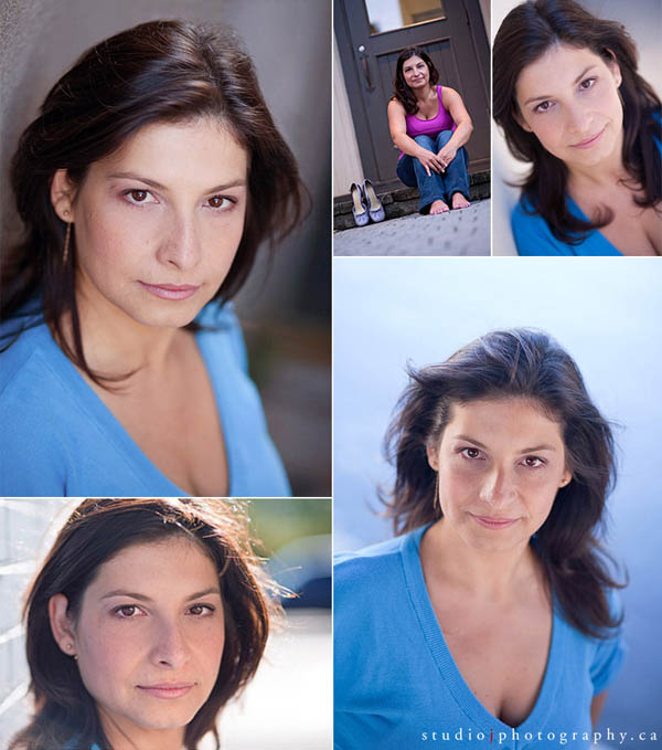 Toronto actor and actress headshots