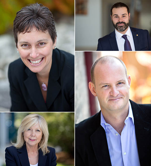 Corporate headshots of Directors in Kitchener Waterloo region