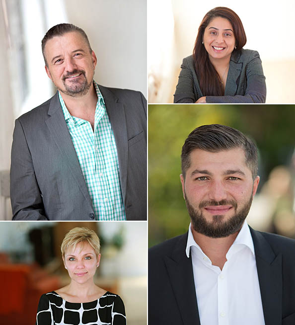 real estate agent headshot collage